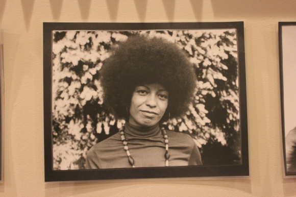A picture of Angela Davis